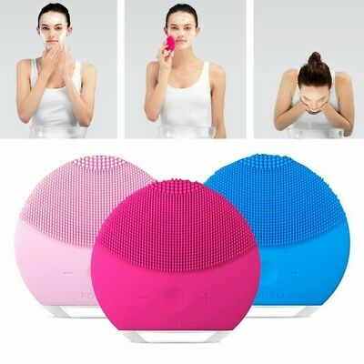 New Foreo LUNA mini 2 Facial Cleansing Skin Care Device Brush Free Shipping