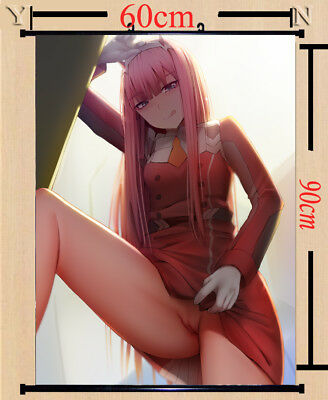DARLING in the FRANXX 02 Wall Picture Poster Wall Home Scroll Decor 60*90cm#2-14