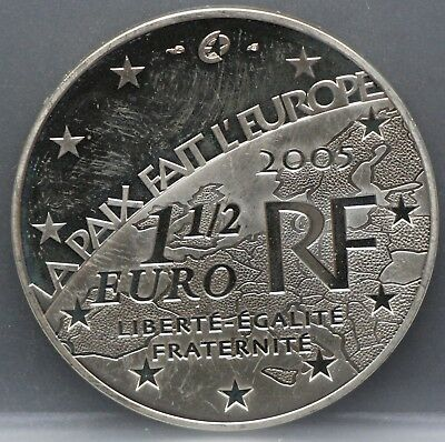 Frankrijk - France   1 1/2 Euro 2005 - 1,5 Euro 2005 - End of world war II PR/XF