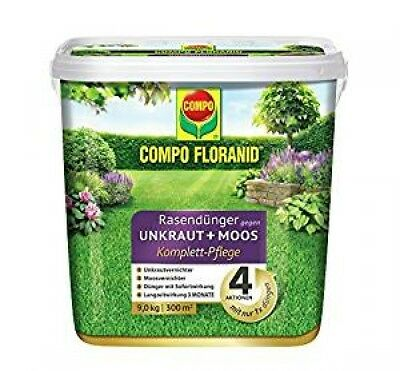 Pro Kilo Compo 26173 FLORANID Lawn Fertilizer against Weed and Moss 4-In
