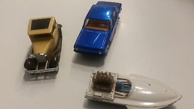 kleines Konvolut Alter Autos Metall 2xMatchbox