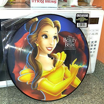 NEW Disney Parks Vinyl Record Collection BEAUTY AND THE BEAST (PICTURE DISC)