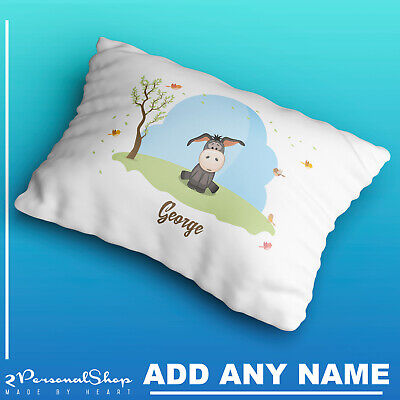 Personalised Cute Animals Pillow Case Cushion Cover Custom Made Print 109