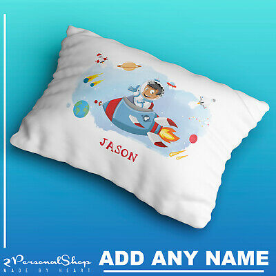 Personalised Space Pillow Case Cushion Cover Custom Made Print 104