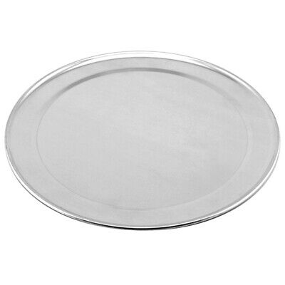 Genware Aluminium Flat Wide Rim Pizza Pan 9inch - Nevilles Pizza Baking Tray
