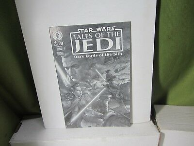 Dark Horse Star Wars Tales Of The Jedi Dark Lords Of The Sith Comic Ashcan Issue