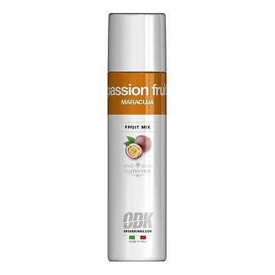 ODK Passion Fruit Puree 750ml - Fruit Puree for Cocktails in a Squeeze Bottle