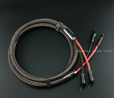 Single MPS 3.0M E-330 speaker cable 9awg OFC//Silver Plated conductors bananas
