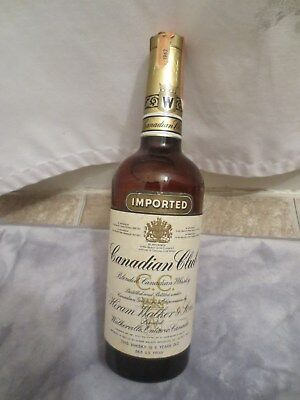 1959 Seagram's Crown Royal Canadian Whisky 4/5 Quart 80 Proof.