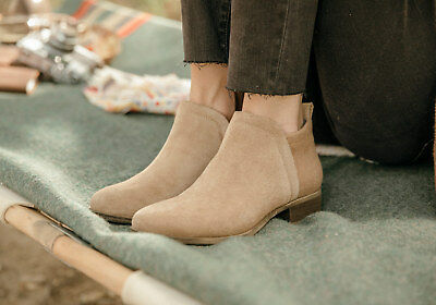 d7b648ef6df TOMS TOFFEE SUEDE Women s Deia Booties Shoes. Style. 10010980 ...