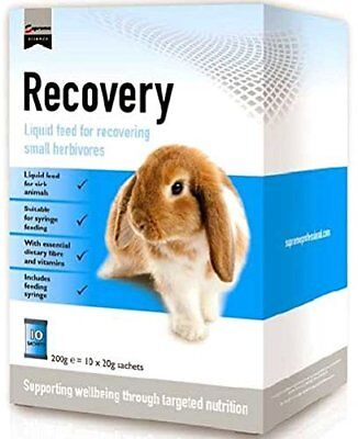 SUPREME Recovery Feed for Small Herbivores | Rabbit | 20g Sachets | Box pk 10