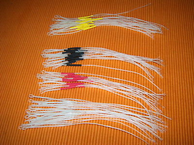6 Clear Braided Loops For Connecting To Your Fly Line