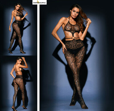 Hot Reizwäsche Fishnet Body Stocking Catsuit Netz Body Unterwäsche |H| 79956-2