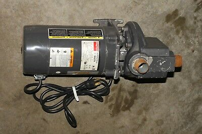 Dayton Jet Pump Motor 9K679 With TEEL 2P390A Water Utility Pump 1/2 HP 3450 RPM