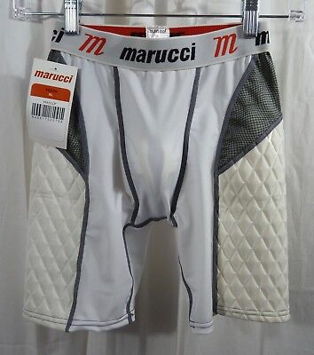 Marucci Youth Elite Padded Slider Shorts with Cup Size XL