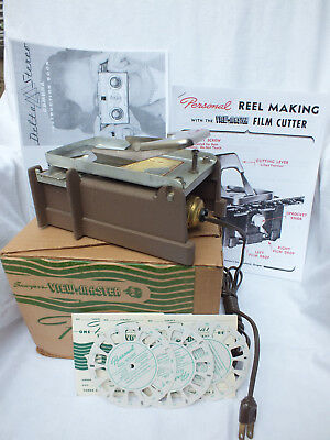 Vintage Viewmaster FC-1 Cutter for the Viewmaster Personal Stereo Camera