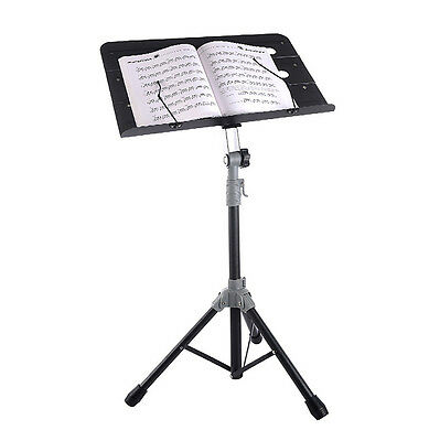 Adjustable Folding Metal Sheet Music Stand /Carrying Bag Musical Instruments