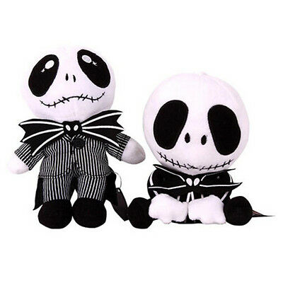 The Nightmare Before Christmas Jack Skellington Plush Doll Toy Pillow Xmas Gift