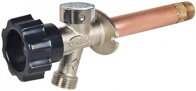 Prier Products 8-in L 1/2-in MIP Brass Frost Proof Wall Faucet Valve