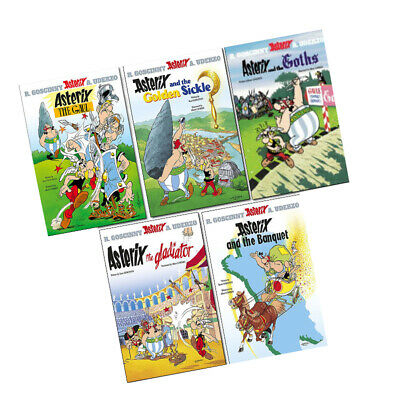 Asterix the Gaul Series 1 Collection (1-5) 5 Books Set Asterix and the Goths NEW