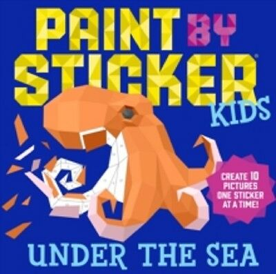 UNDER THE SEA Paint by Sticker Kids9781523500383