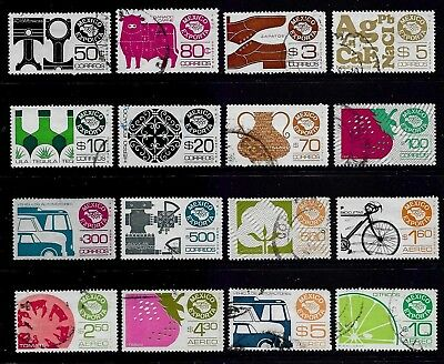 MEXICO 1975 Mexican Exports, incl Air mail, used