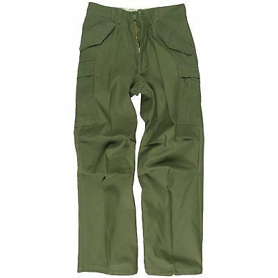 Miltec Us Nyco M65 Field Trousers Mens Army Combat Cargo Pants Security Military