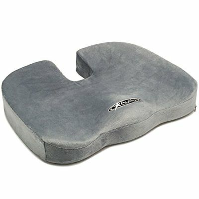 Coccyx Seat Cushion | Back Support Tailbone and Sciatica Pain Relief Cover