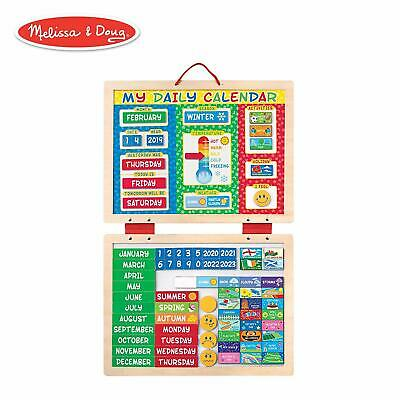 Melissa & Doug My First Magnetic Daily Calendar with 82 Magnets 19253