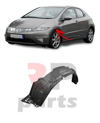 For Honda Civic Hatchback 06-11 New Front Left N/S Wheel Arch Trim Cover Plastic