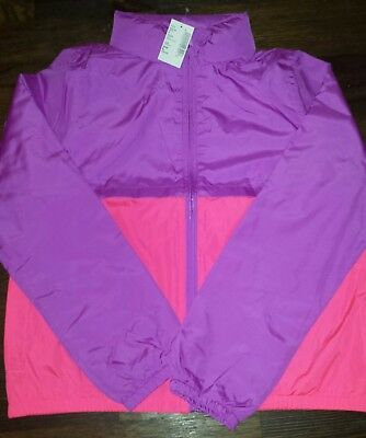 NWT's Childrens Place WindBreaker Jacket w/Pull out Hoodie Size L 10/12