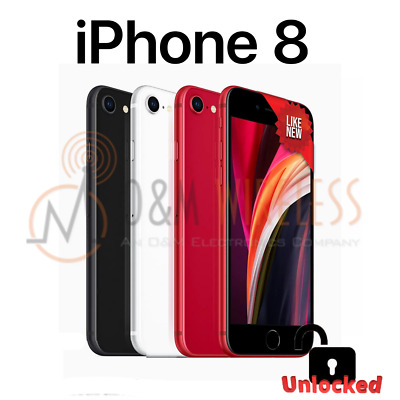 NEW* Apple iPhone 8 64GB (A1905, Factory Unlocked) SPACE GRAY GOLD SILVER RED