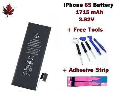Brand New iPhone 6S Replacement Battery With Repair Tools & Adhesive Strip