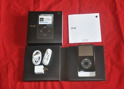 A1136 Brand New Apple iPod Classic Video 30gb 5th Generation Black - Warranty !!
