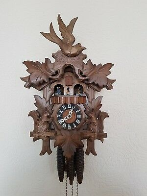 1940s German Black Forest Cuckoo Clock