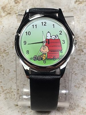 Snoopy & Charlie Brown Watch - Nos - New Battery -  Free Shipping!