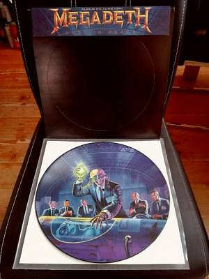Megadeth - Rust In Peace / Picture LP / Capitol Records 1990 First Press