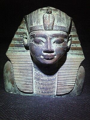 ANCIENT EGYPT EGYPTIAN ANTIQUE King Thutmose Bust Statue Sculpture 1458-1425 BC