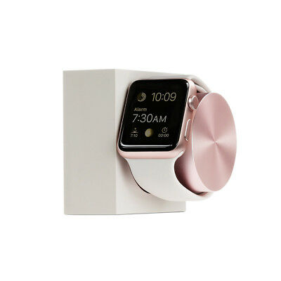 Native Union DOCK for Apple Watch 38/42mm Stone/Rose Gold Weighted Charging Dock