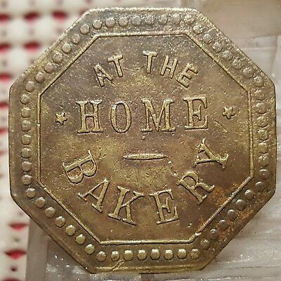 Good for one loaf of Bread at the Home Bakery Goldfield Nevada Trade Token