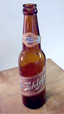 Vintage Schlitz Beer Bottle