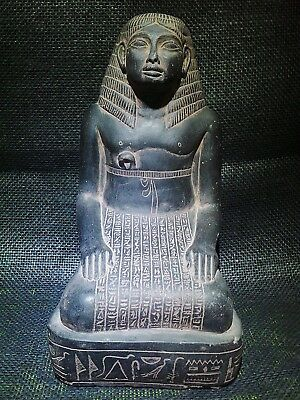 ANCIENT EGYPT EGYPTIAN ANTIQUE Amenhotep Son of Hapu Statue Figure 1403-1365 BC