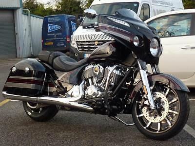 Indian Chieftain Limited Thunder Black Pearl With Graphics 2018 Model