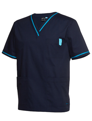 NEW Contrast Scrub Top