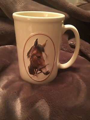 """Equine Expressions """"PAINT HORSE"""" Horse Mug Face Saying Animal Coffee Tea"""