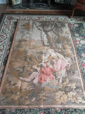 Wonderful Antique/vintage Scenic Tapestry