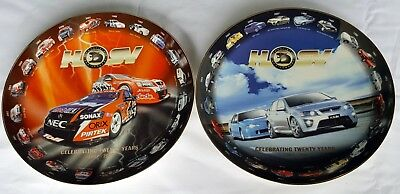 MAKE an OFFER - 1 PAIR HOLDEN COMMODORE HSV Collector Plates, Road & Race - RARE