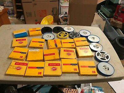 28 rolls of Super 8 home movies - 1967-1972