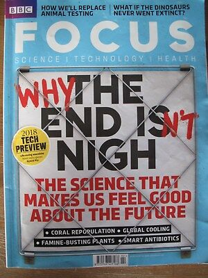 BBC Focus Magazine February 2018 Why the End Isnt Nigh Science Technology Health