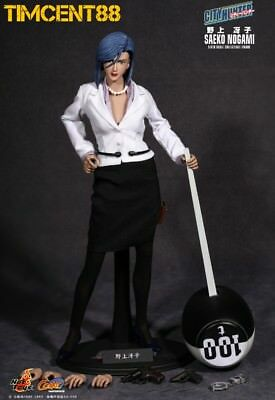 Ready! Hot Toys CMS03 City Hunter Nicky Larson Saeko Nogami 1/6 Figure New